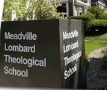 Meadville Lombard Theological School sign
